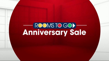 Rooms to Go Anniversary Sale TV Spot, 'King-Size Sealy' - Thumbnail 1