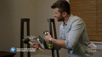 HitsMeUp TV Spot, 'DIY With Brett' Featuring Brett Eldredge