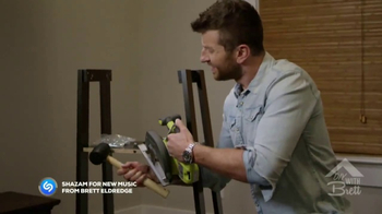 HitsMeUp TV Spot, \'DIY With Brett\' Featuring Brett Eldredge