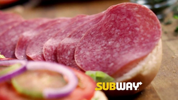 Subway Italian Hero TV Spot, 'Authentic' - Thumbnail 4