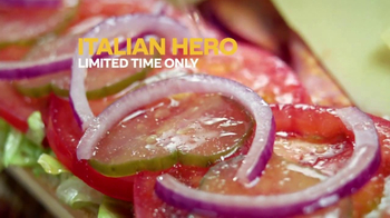 Subway Italian Hero TV Spot, 'Authentic' - Thumbnail 6