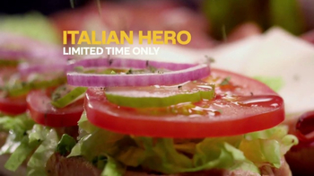 Subway Italian Hero TV Spot, 'Authentic' - Thumbnail 7