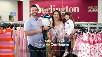 Burlington TV Spot, 'Estas Pascuas: la familia Freeth' [Spanish]