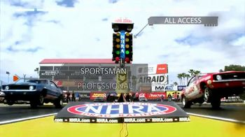 NHRA All Access TV Spot, 'Every Heart-Stopping Moment'