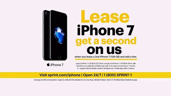 Sprint Unlimited TV Spot, 'Try New Things: iPhone 7 Lease' - Thumbnail 7