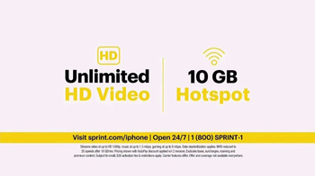 Sprint Unlimited TV Spot, 'Try New Things: iPhone 7 Lease' - Thumbnail 5
