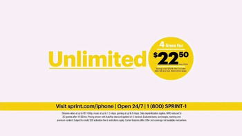 Sprint Unlimited TV Spot, 'Try New Things: iPhone 7 Lease' - Thumbnail 6