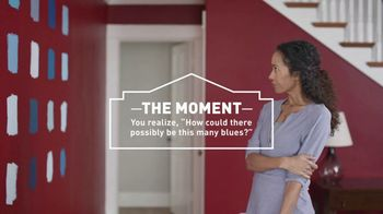 Lowe's TV Spot, 'The Moment: Blue Paint and Primer' - 671 commercial airings