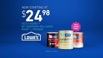 Lowe's TV Spot, 'The Moment: Blue Paint and Primer' - Thumbnail 8