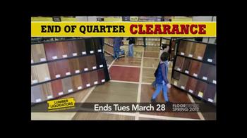 Lumber Liquidators End of Quarter Clearance TV Spot, 'Floor Trends'