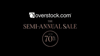 Overstock.com Semi-Annual Sale TV Spot, 'Over 600,000 Products on Sale' - Thumbnail 1