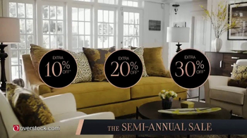 Overstock.com Semi-Annual Sale TV Spot, 'Over 600,000 Products on Sale' - 164 commercial airings