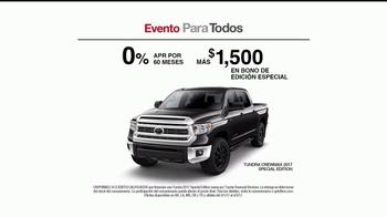 Toyota Evento Para Todos TV Spot, 'El mecánico' [Spanish] [T2] - Thumbnail 5