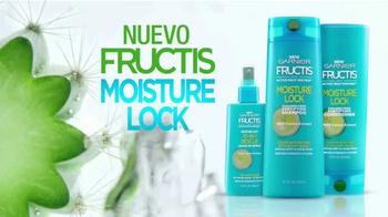 Garnier Fructis Moisture Lock TV Spot, 'Super cabello' [Spanish] - Thumbnail 9
