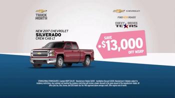 AutoNation 72 Hour Sale TV Spot, '2017 Silverado and Equinox' - Thumbnail 2
