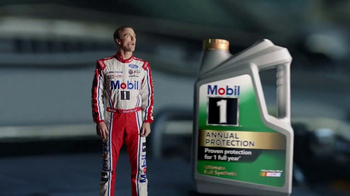 Mobil 1 Annual Protection TV Spot, 'One Year, Oil Change' Ft. Kevin Harvick - Thumbnail 3