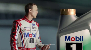 Mobil 1 Annual Protection TV Spot, 'One Year, Oil Change' Ft. Kevin Harvick - Thumbnail 4