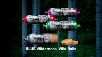 Blue Buffalo BLUE Wilderness  TV Spot, 'Wolf Dreams: Wild Rolls' - Thumbnail 8