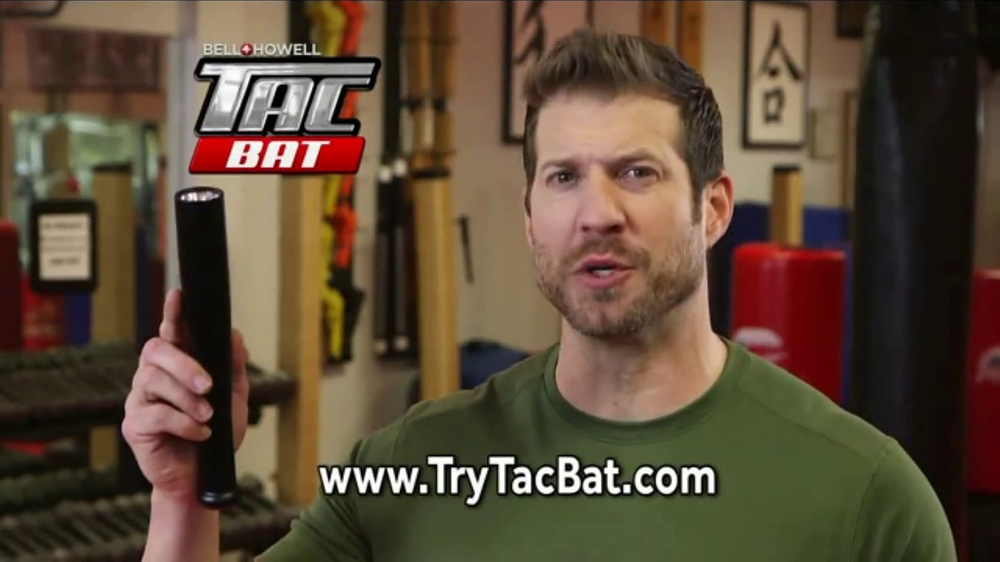 Bell + Howell TacBat TV Commercial, 'Defend Against Attackers' Feat. Nick Bolton