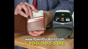 Power Plus Wallet TV Spot, 'Charge Your Phone'