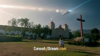 Curiosity.com TV Spot, 'Stephen Hawking's Favorite Places'