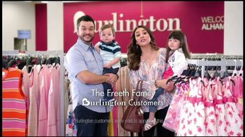 Burlington TV Spot, 'The Freeth Family: Easter Ready for Less'