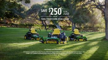 John Deere Take Your Turn Challenge TV Spot, 'Mow Well' Ft. Dolph Lundgren - Thumbnail 9