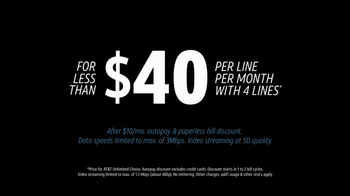 AT&T Unlimited Plan TV Spot, 'Unlimited Comes to Life' Song by Sylvan Esso - Thumbnail 7