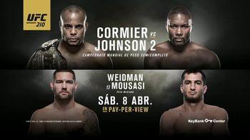 UFC 210 TV Spot, 'Cormier vs. Johnson 2' [Spanish] - 45 commercial airings