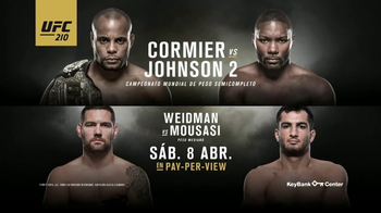 UFC 210 TV Spot, 'Cormier vs. Johnson 2' [Spanish] - 45 commercial airings
