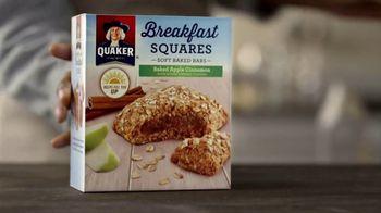 Quaker Breakfast Squares TV Spot, 'Delicious Ingredients'