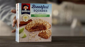 Quaker Breakfast Squares TV Spot, 'Delicious Ingredients' - 7296 commercial airings