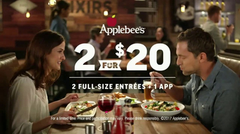 Applebee's 2 for $20 TV Spot, 'More Tempting Than Ever' - Thumbnail 8