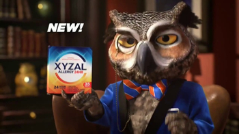 XYZAL Allergy 24HR TV Spot, 'A Word to the Wise' - Thumbnail 9