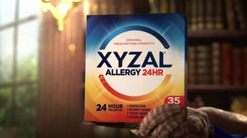 XYZAL Allergy 24HR TV Spot, 'A Word to the Wise' - Thumbnail 4