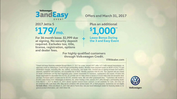 Volkswagen Three and Easy Event TV Spot, 'Father-Son: 2017 Jetta S' [T2] - Thumbnail 9