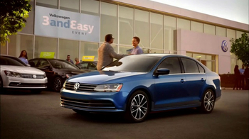Volkswagen Three and Easy Event TV Spot, 'Father-Son: 2017 Jetta S' [T2]