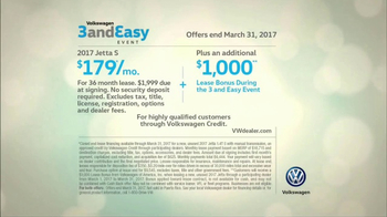 Volkswagen Three and Easy Event TV Spot, 'Father-Son: 2017 Jetta S' [T2] - Thumbnail 8