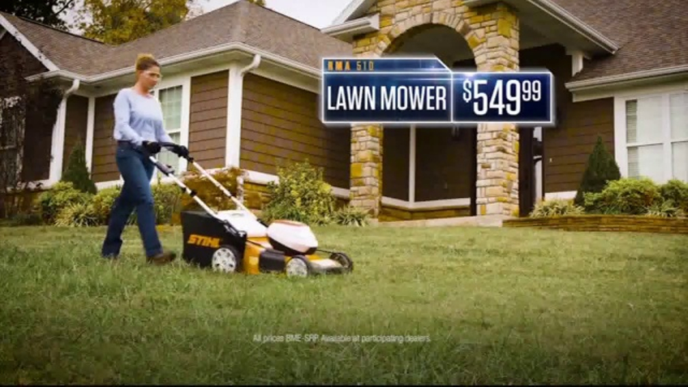 STIHL TV Commercial, 'Pick Your Power: RMA 510 Lawn Mower'