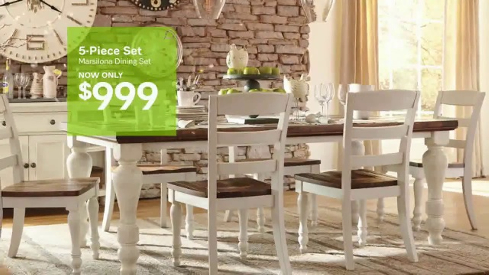 Ashley HomeStore 72nd Anniversary Sale TV Commercial, U0027Less For Your Looku0027    ISpot.tv