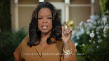 Weight Watchers TV Spot, 'Over 40 Pounds' Featuring Oprah Winfrey - Thumbnail 1