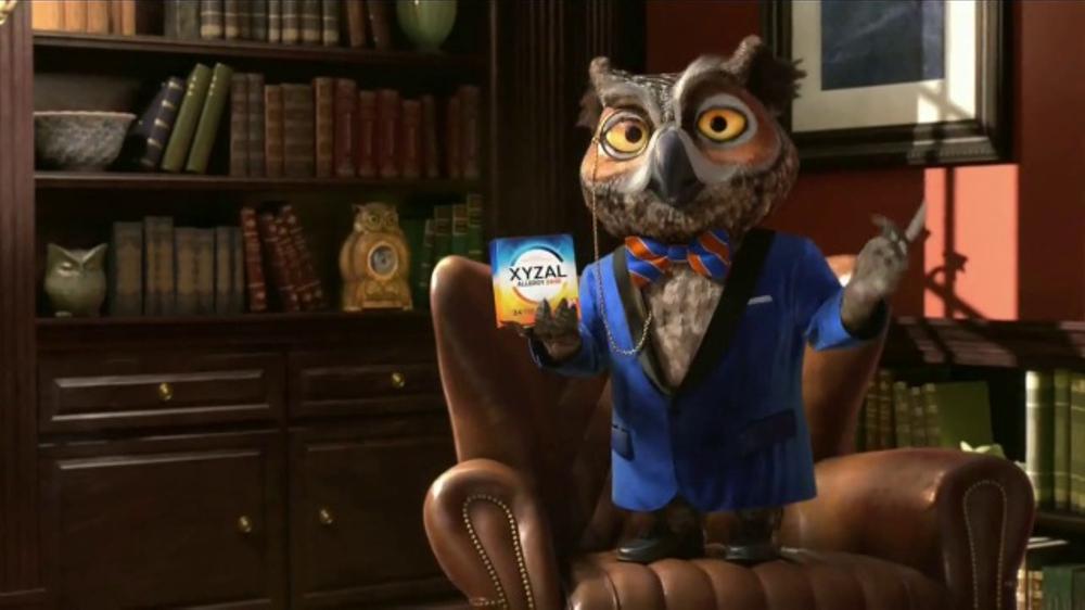 XYZAL Allergy 24HR TV Commercial, 'Palabras sabias'