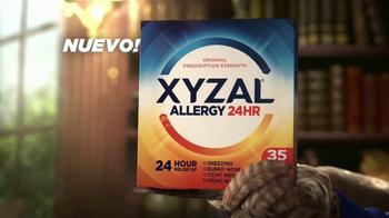 XYZAL Allergy 24HR TV Spot, 'Palabras sabias' [Spanish] - Thumbnail 4