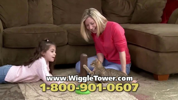 Wiggle Tower TV Spot, 'Pops In, Pops Out'