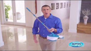 Hurricane Spin Broom TV Spot, 'Gobbles Up Everything'
