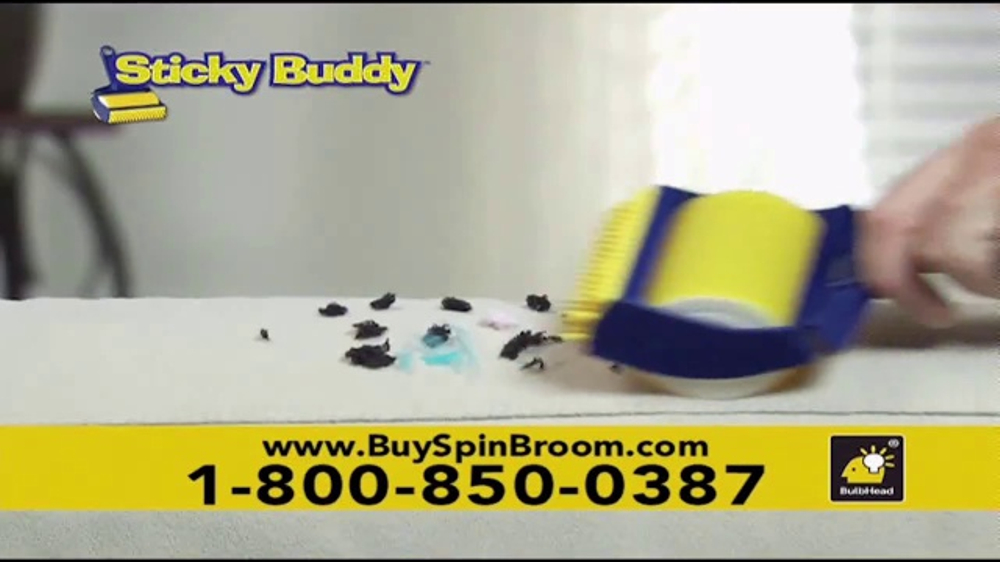 Hurricane Spin Broom Tv Commercial Gobbles Up Everything
