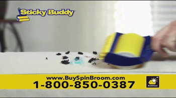 Hurricane Spin Broom TV Spot, 'Gobbles Up Everything' - Thumbnail 9