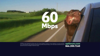 Optimum Internet TV Spot, 'As Fast as You Need'