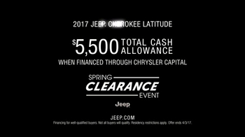 Jeep Spring Clearance Event TV Spot, 'The Great Outdoors: Latitude' [T2] - Thumbnail 10