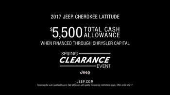 Jeep Spring Clearance Event TV Spot, 'The Great Outdoors: Latitude' [T2] - Thumbnail 9